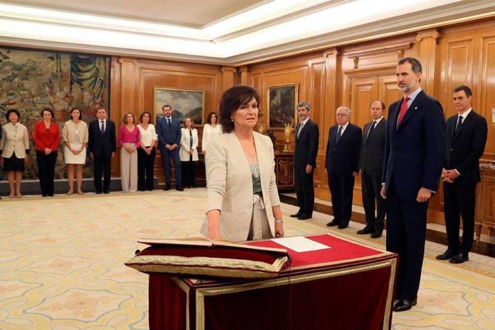 Gabinete Ejecutivo de Pedro Sánchez es juramentado por el Rey de España