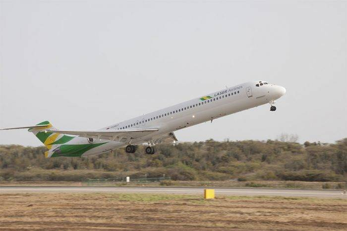 Laser Airlines comenzó a volar a Puerto Ordaz