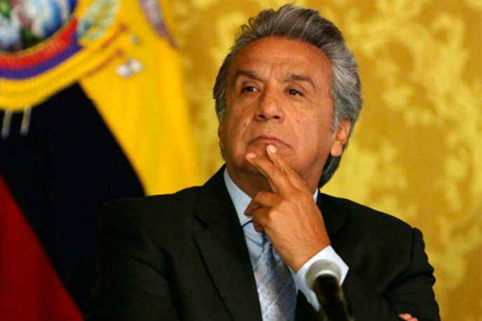 Lenín Moreno hablará sobre éxodo de venezolanos con alto comisionado de Acnur