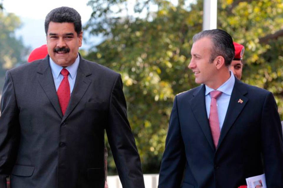 Maduro y Tarek. Foto: El Jojoto