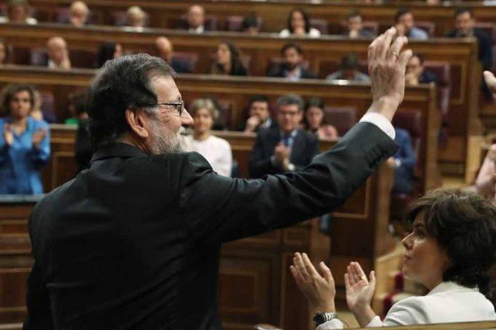 VIDEO | Rajoy: Ha sido un honor dejar una España mejor de la que encontré
