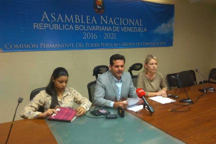 Movistar y Digitel no asistieron ante comisión de la AN para explicar bloqueo a portales