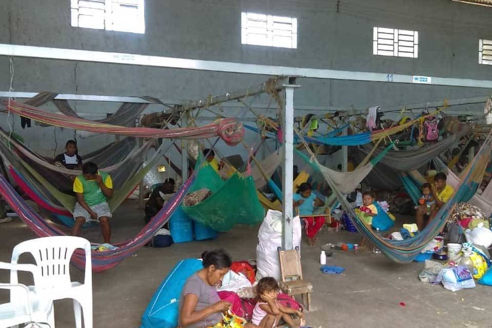 Migración venezolana Brasil refugios