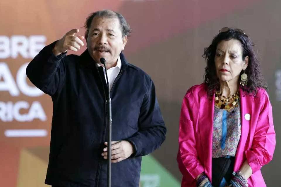 Daniel Ortega Rosario Murillo