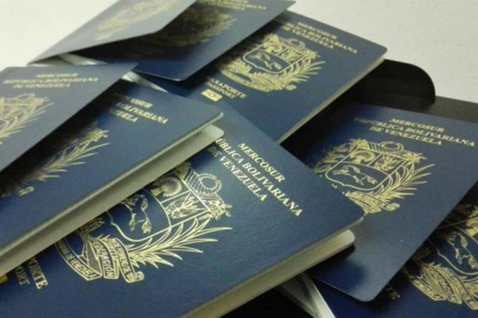 Pasaportes -Capturados-SAIME