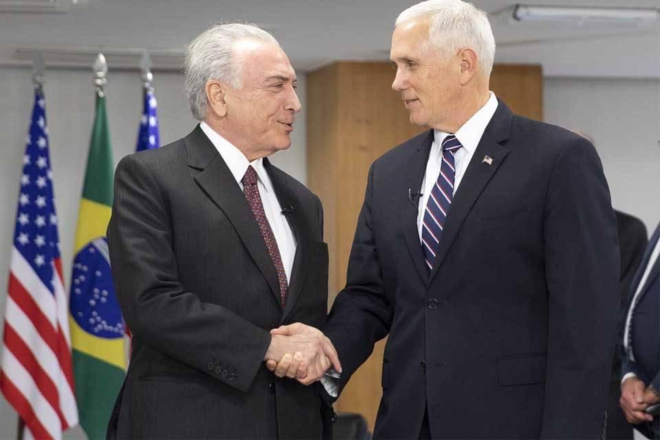 Mike Pence EEUU Michel Temer Brasil