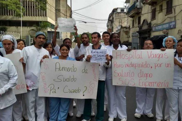 Protesta Enfermeros