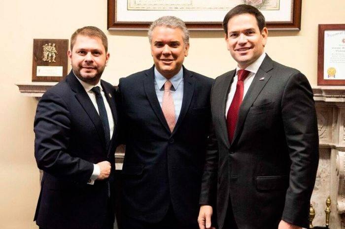 Marco Rubio e Ivan Duque se reunieron para conversar sobre Venezuela