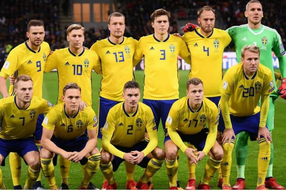 Suecia Mundial Rusia 2018