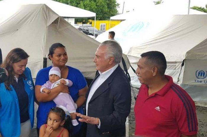 Michel Temer migrantes venezolanos Brasil