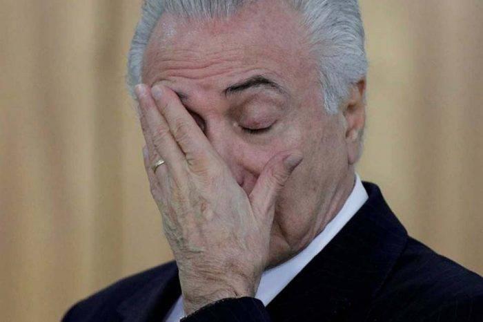 Policía de Brasil pide investigar a Temer por vinculación con Odebrecht
