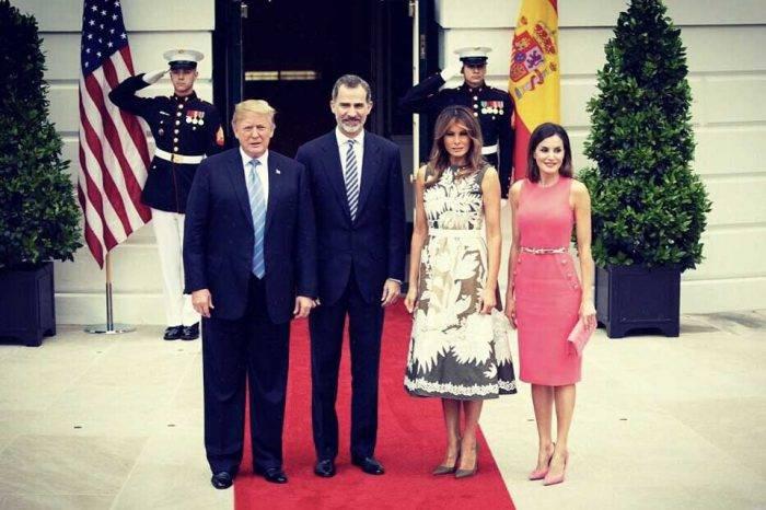 Donald Trump Rey Felipe España