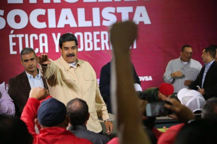 Maduro: Autodestrucción de Pdvsa fue causada por infiltración de EEUU
