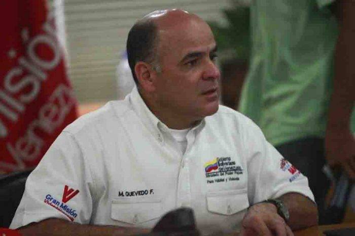 Ministro Quevedo condenó recomendaciones de Trump a la OPEP