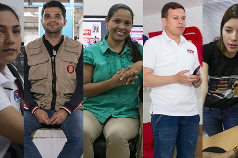 Periodistas venezolanos en Cúcuta