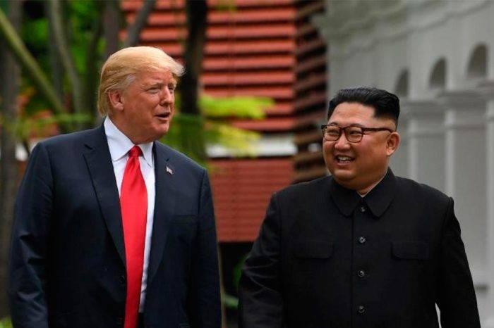 """Trump afirma que conversaciones con Corea del Norte """"van bien"""""""