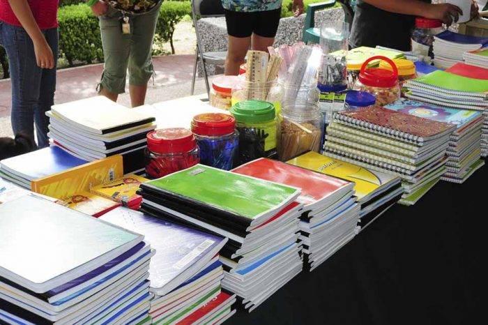Periodistas se unen para que en el inicio escolar no falten los útiles
