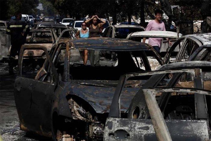 Incendios Forestales en Grecia han causado la muerte de 74 personas