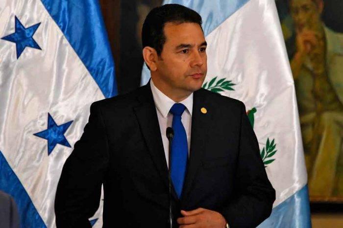 Presidente de Guatemala es denunciado por presunta agresión sexual