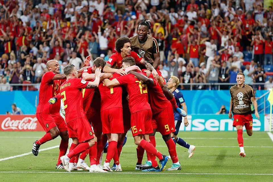 Bélgica vs Japón. Rusia 2018