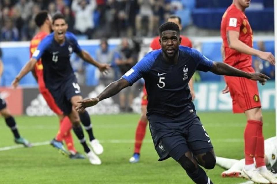 Francia juega la final. Rusia 2018