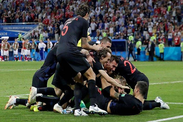 Rusia 2018: Croacia avanza a la final del Mundial