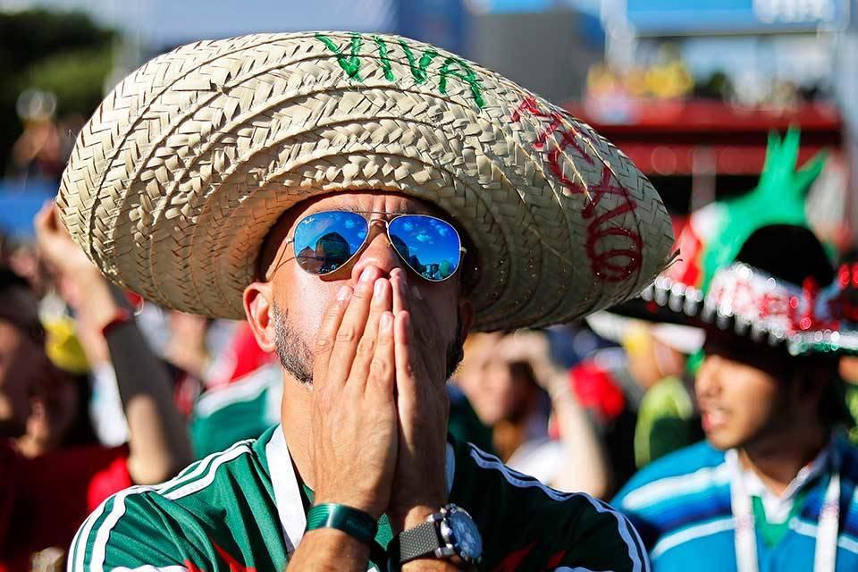 México pierde contra Brasil. Rusia 2018