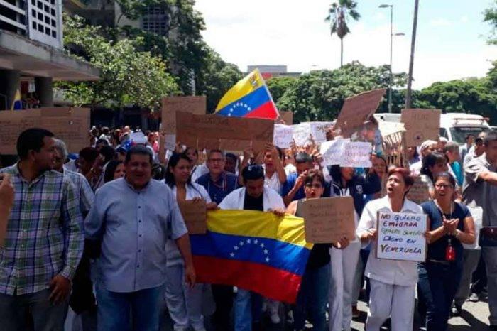 Sector salud plantea convocar una marcha nacional para rechazar la crisis hospitalaria