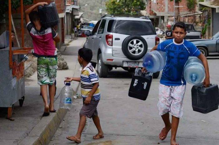 Sectores de Caracas, Miranda y Vargas se quedarán sin suministro de agua por 18 horas