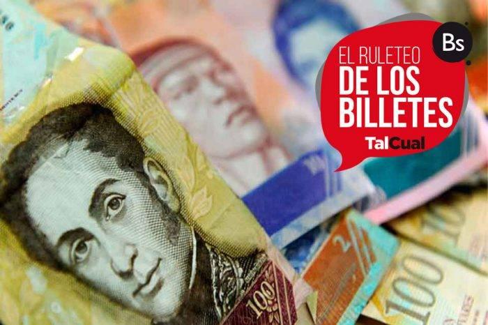 ¿Cuánto cuestan los billetes en Venezuela? (I)