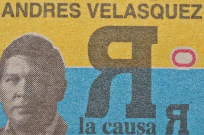 El peligroso Andrés Velasquez, por Tony Rivera Chávez