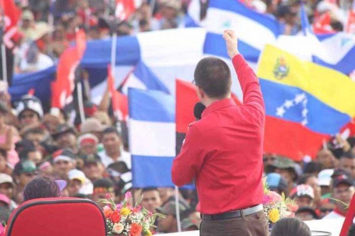 """Arreaza ofrece a Venezuela para """"defender la soberanía"""" de Nicaragua"""