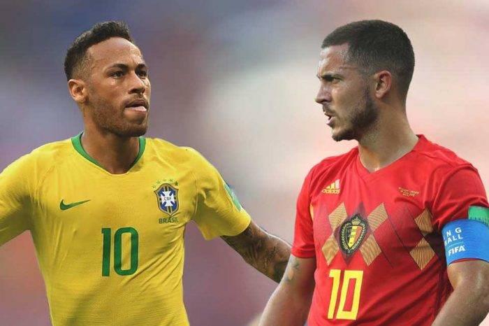 Brasil y Bélgica chocan en duelo de alto vuelo