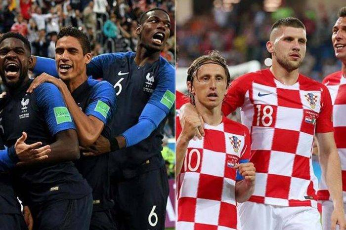 Francia y Croacia van por la gloria máxima en Rusia 2018
