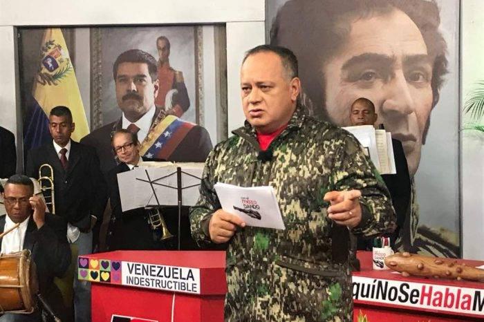 "Cabello: ""A Requesens se le están respetando todos sus DDHH"""