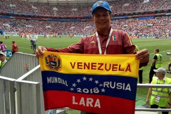 Hely Garagozzo es el venezolano que ha asistido a más mundiales de fútbol en la historia
