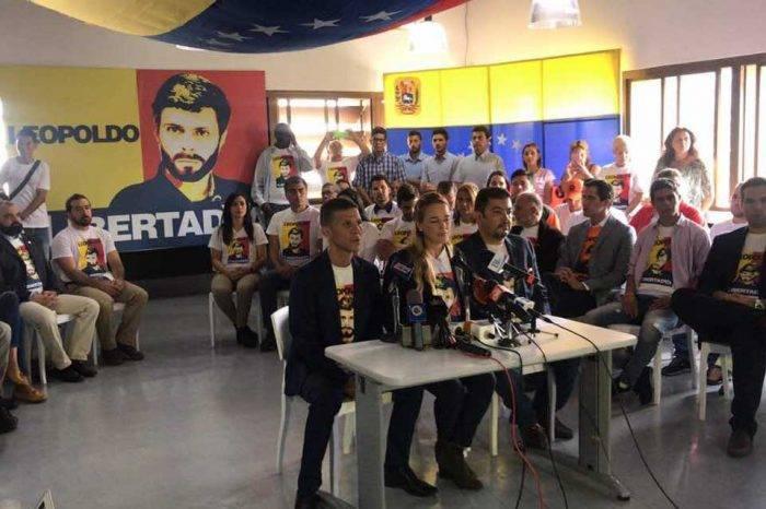 Lilian Tintori denunciará violaciones de DDHH contra Leopoldo López ante la CIDH