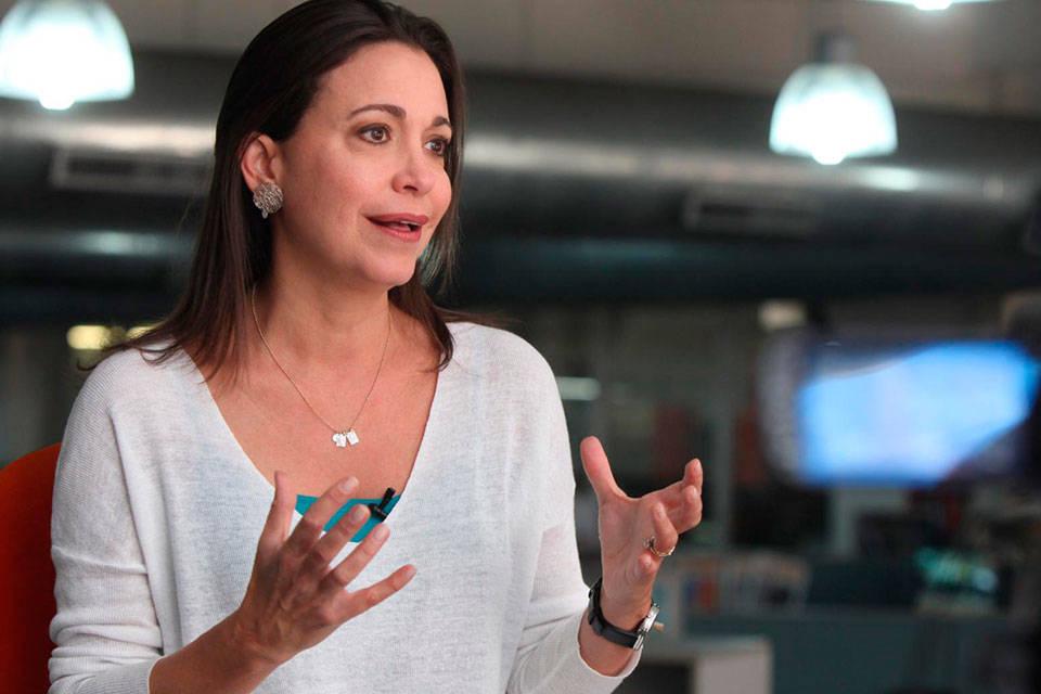 María Corina Machado. Foto: Venepress