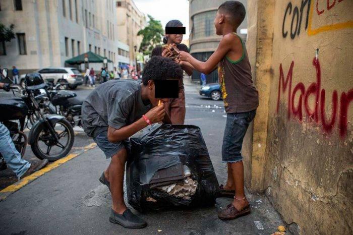 Niños de la calle. Foto: El Estímulo
