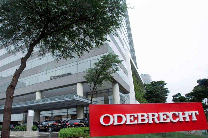Odebrecht podría declararse en bancarrota en Brasil ante presión de acreedores