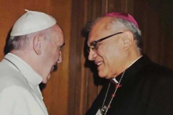 Papa Francisco y Baltazar Porras