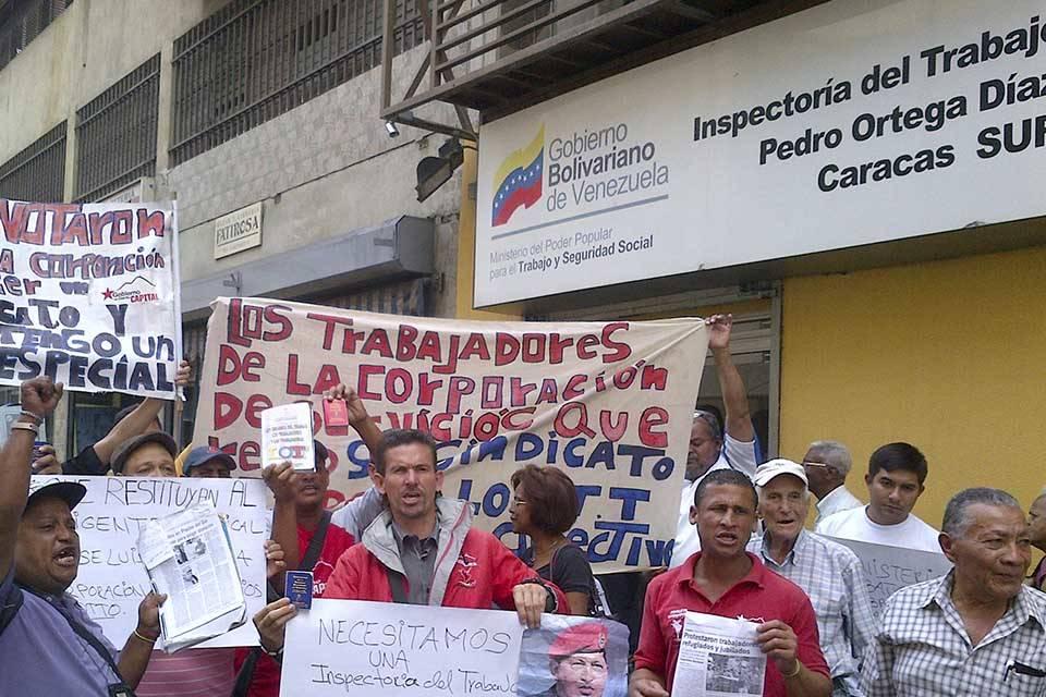 Protesta MinTra