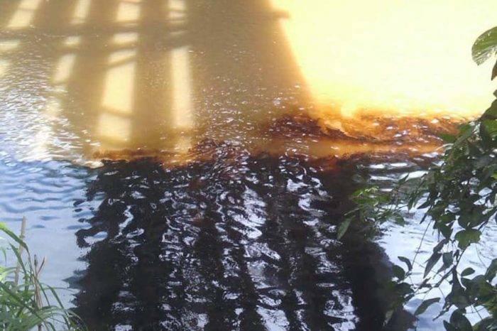 Servicio de agua en Monagas es suspendido por derrame de petróleo en el río Guarapiche
