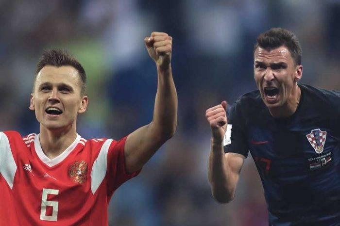 Rusia 2018: Rusia y Croacia pugnarán por un puesto en las semifinales