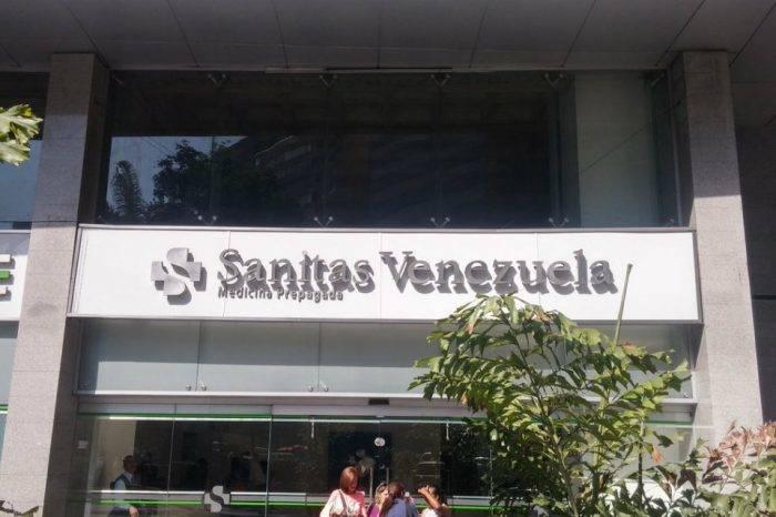 Ejecutan medida administrativa contra Sanitas Venezuela