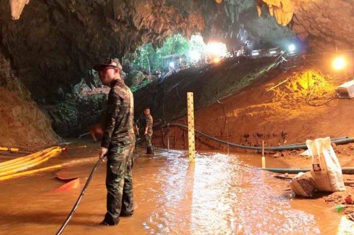 Marina tailandesa informó que rescate de niños atrapados en cueva fue exitoso