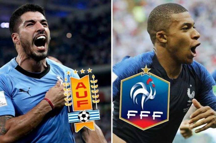 #Rusia2018 Uruguay y Francia abren la fiesta de los cuartos de final