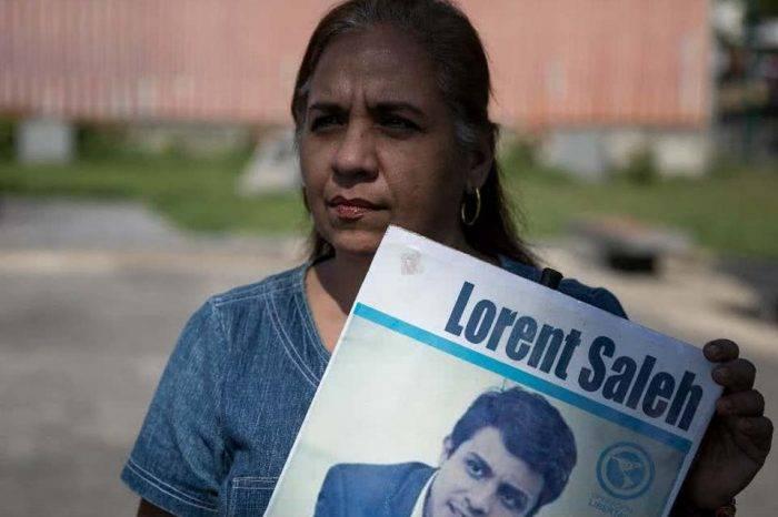 Lorent Saleh se reencontró con su madre en su 30º cumpleaños