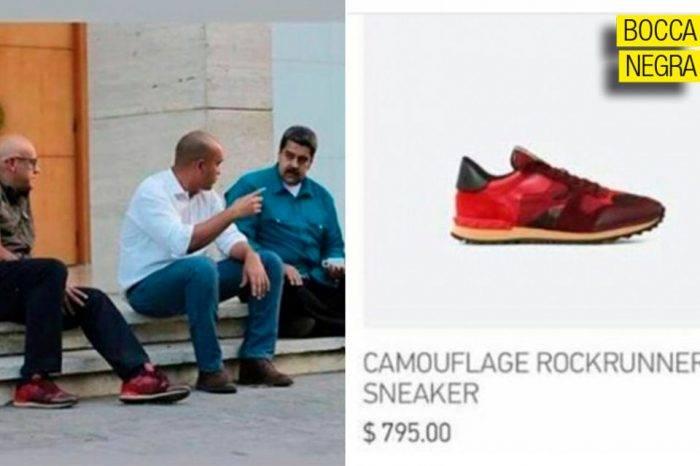 Los zapatos de Jorge no son como los de Manacho