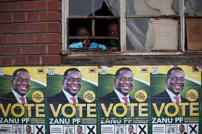 Zimbabue celebra elecciones presidenciales, las primeras sin Robert Mugabe